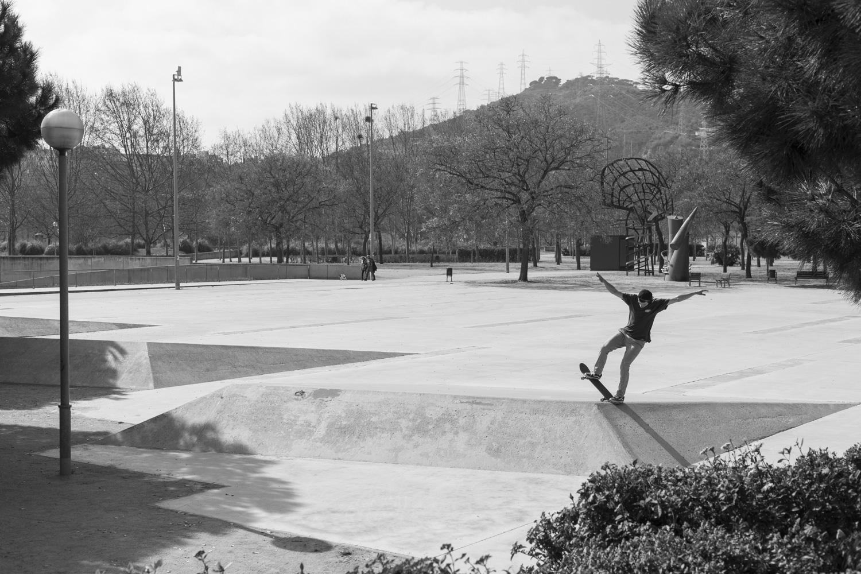 Homie, Bluntslide, Barcelona